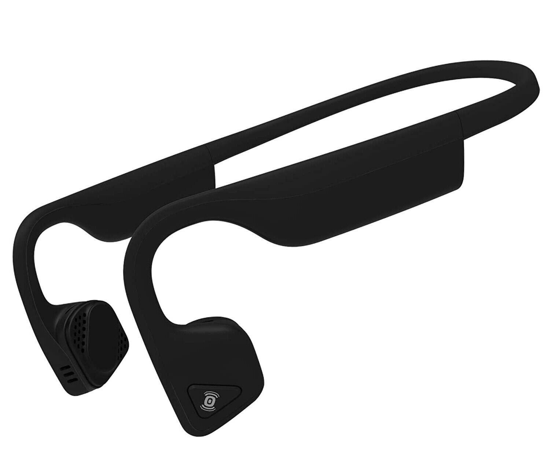 Aftershokz Titanium Nero Auricolare a Conduzione Ossea con Bluetooth Integrato