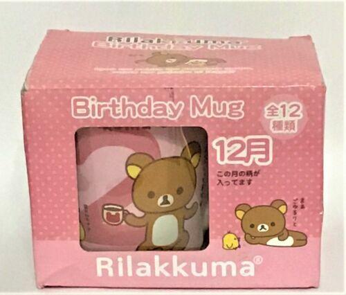 Rilakkuma Cafe Birthday Mug December San-X,Japanese Anime