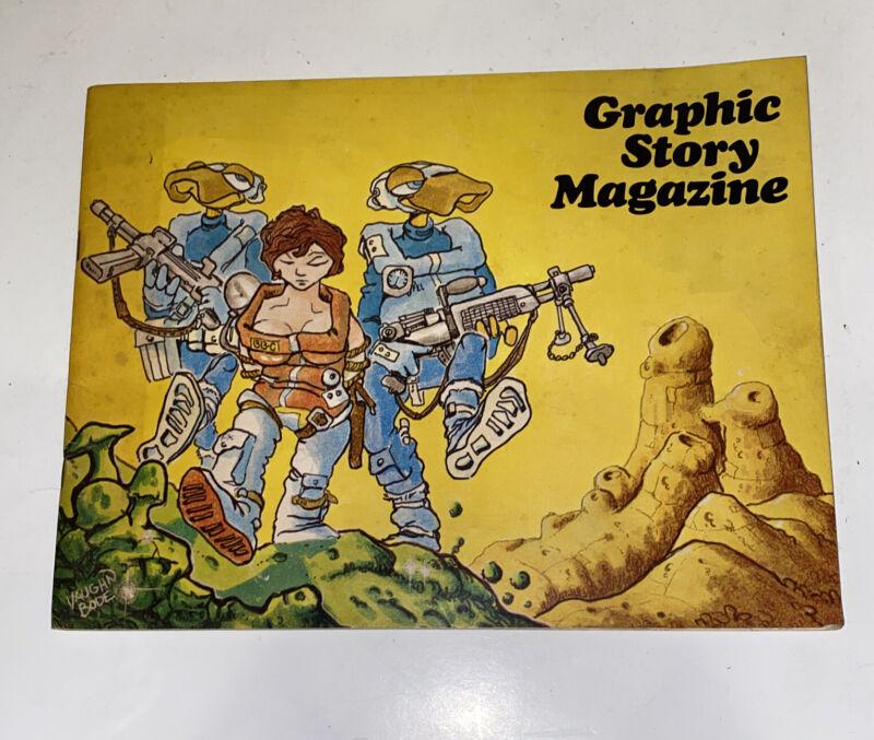 Graphic Story Magazine 10 1969 Fanzine F/vf Vaughn Bode Issue Alex Toth