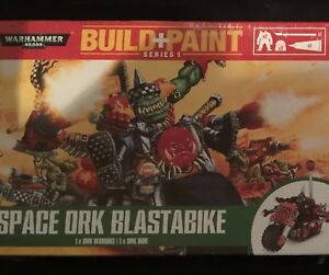 Warhammer 40k Orks build and paint kits