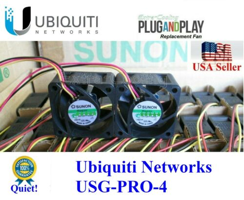 2x Quiet Fans Ubiquiti Unifi Security Gateway Pro (USG-PRO-4) 13~18dBA noise