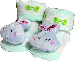 Cartoon Baby Anti-slip Socks Slipper Shoes Boots 0-6 Months