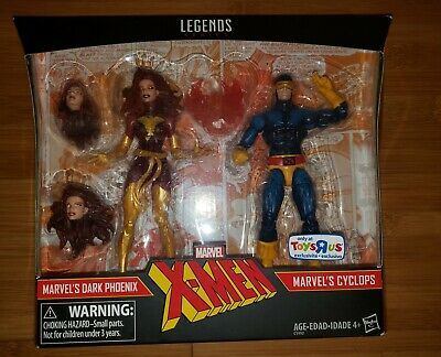 Marvel Legends Dark Phoenix 2 Pack toys r us exclusive jean grey Cyclops
