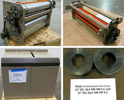 Didde Web Press Units Accs Perf Print Punch Die Spacer More - Inv 3632