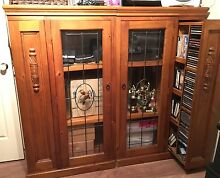 Display Cabinets x 2 Large , both ends pull out for CD,DVD storage Oxley Vale Tamworth City Preview