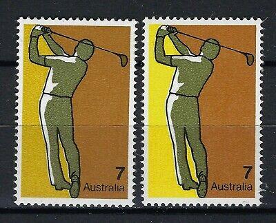 Australia , Color Difference, EFO, Error  - $7.90