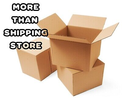 5x5x5 Moving Box Packaging Boxes Cardboard Corrugated Packing Shipping
