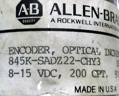 Allen-bradley 845k-sadz22-chy3 Incremental Optical Rotary Encoder
