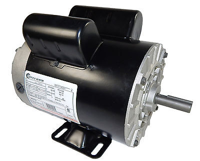 5 HP 3450 RPM Air Compressor Electric Motor 208-230 Volts ~NEW~ Century # B385