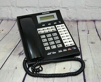 Samsung Ds-24d 24 Button Business Phone Wlcd Display Speakerphone Black