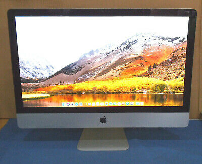 "Apple iMac 27"" Core i5 2.66Ghz 16GB RAM 1TB HDD FINAL CUT + LOGIC PRO X + APPS"