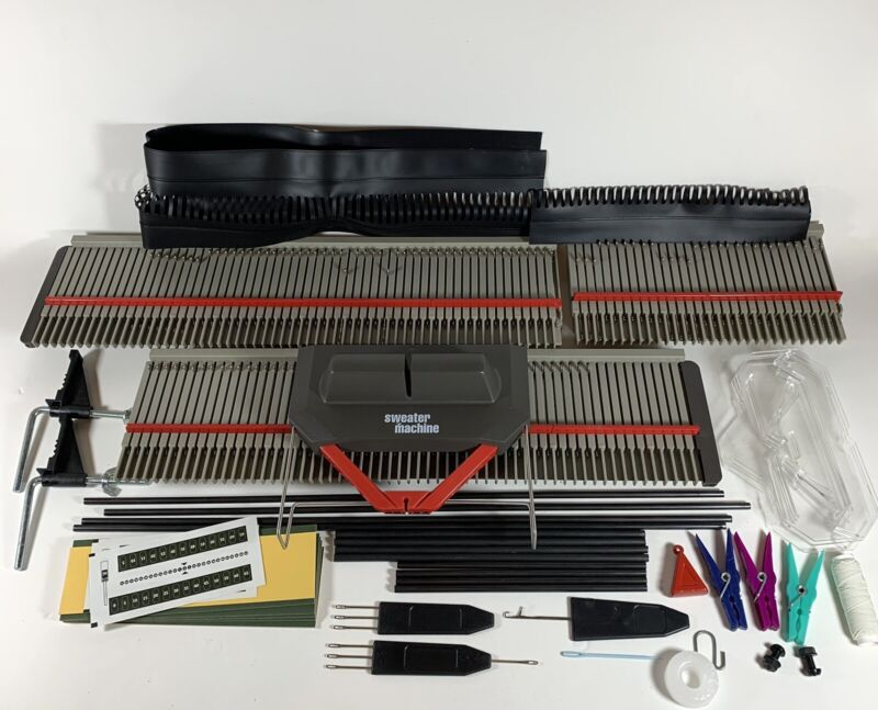 Bond Incredible Sweater Machine Knitting Machine with Extension *No Instructions