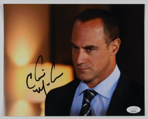 Christopher Meloni Law And Order SVU Signed JSA Autograph Photo 8 x 10