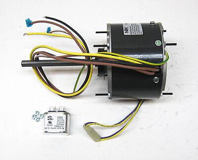 AC Air Conditioner Condenser Fan Motor 1/5 HP 1075 RPM 230 V