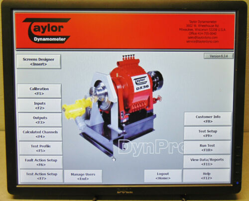 Taylor TD3100 Engine Dynamometer Dyno & Kit