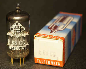 Telefunken E88CC Tube Röhre