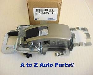 New 2005 2009 Chevy Equinox Left Driver Inside Interior Door Handle Oem Gm Ebay