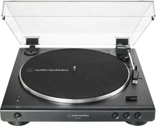 Audio-Technica - ATLP60XBT Bluetooth Stereo Turntable - Black NEW