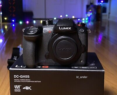 Panasonic Lumix GH5S Mirrorless Digital Camera - Black (Body Only)