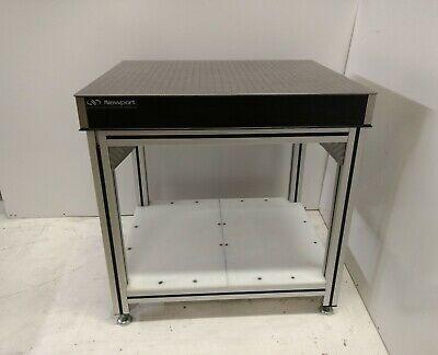 Crated Newport 30 X 36 Optical Breadboard Table Adjustable 8020 Type Bench