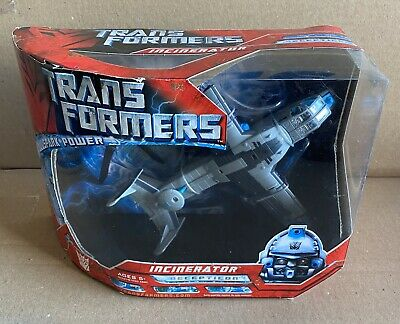 Transformers 2007 Movie Voyager Class Incinerator AllSpark Figure
