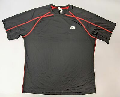 The North Face Short Sleeve T-Shirt Men's Size X-Large Black/Red NWOT