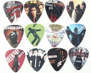 10pcs 0.71mm New Popular Cool Green day Rock Band Guitar Picks Musical Plectrums