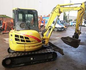 New Holland EH50B Excavator Hallam Casey Area Preview