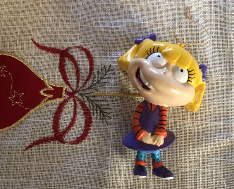 Rugrats Cartoon Angelica Pickles Christmas Tree Ornament Nickelodeon