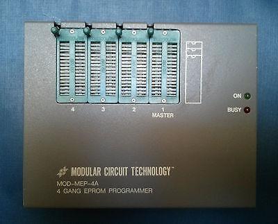Modular Circuit Technology Mct 4 Gang Eprom Programmer Mod-mep-4a