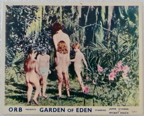 "ORIGINAL 1954 LOBBY CARD 10"" x 8"" -"