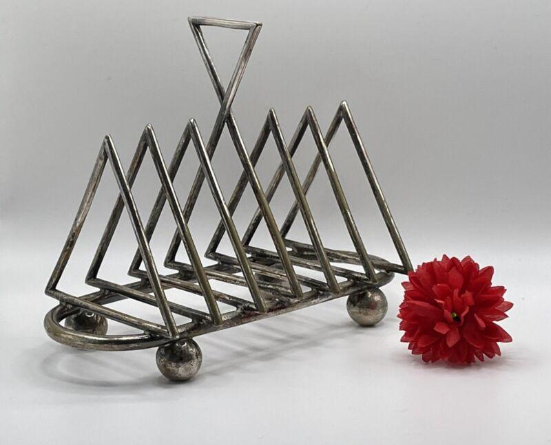 Arts And Crafts Christopher Dresser Design Toast Rack Made 1880's