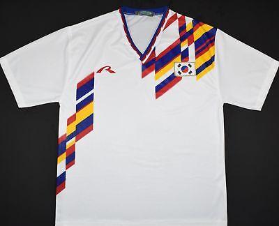 1994-1995 SOUTH KOREA RAPIDO AWAY FOOTBALL SHIRT (SIZE L) image