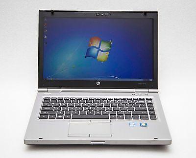 "HP EliteBook 8460p 14"" Core i5-2520M 2.5GHz 8GB 320GB Webcam Win 7 Pro Laptop"