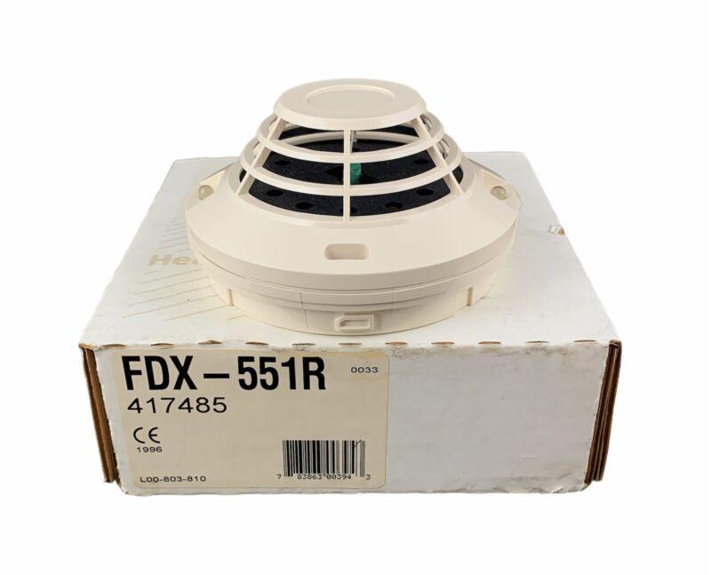 🌟Notifier FDX-551R Rate-of-Rise Temperature Sensor, Thermal Smoke Detector