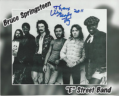 - Bruce Springsteen's East Street Band Drummer Vini Lopez autographed 8x10 photo*