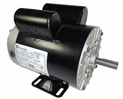 3 Hp 3450 Rpm Air Compressor Electric Motor 115230 Volts New Century B383