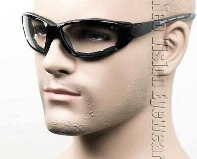 Erb Ammo Clear Anti Fog Foam Padded Safety Glasses Motorcycle Shooting Z87