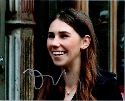 Zosia Mamet Signed Autographed Girls 8X10 Photo A