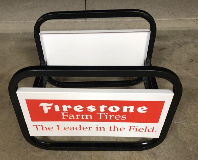 Firestone Farm Tires Display New Vintage