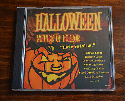 Sound Effects Halloween Sounds Of Horror (Halloween Sounds Of Horror CD - Entertaining Scary Sound Effects - Like New)