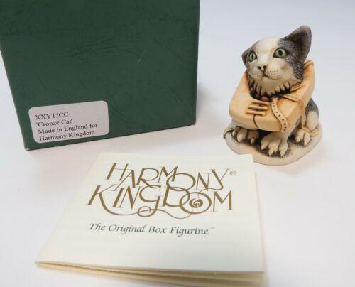 Harmony Kingdom Crooze Cat 1st Cruise Event Pc UK Made Figurine Retired & RARE
