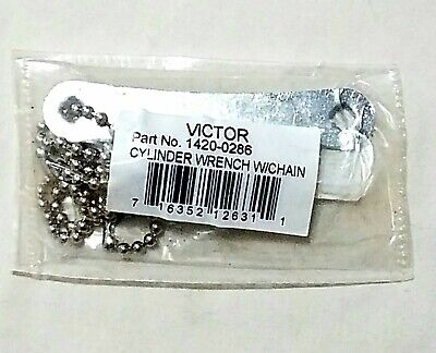 Victor Acetylene Tank Cylinder Wrench B Mc Size 316 Square Chain Welding