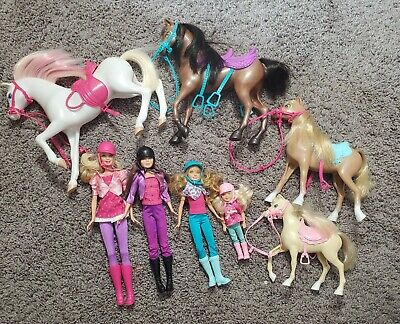 Barbie and Her Sisters in a Pony Tail Sisters Horse Adventure Gift Set