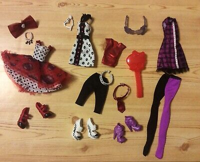 Monster High Operetta clothes shoes accessories LOT