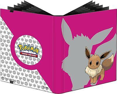 Ultra Pro E-85994 Pokemon-9 Pocket Pro-Binder-Eevee 2019, Pink