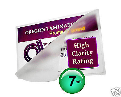 7 Mil Hot 4 X 6 Photo 4.25 X 6.25 Laminating Pouches 100 Clear
