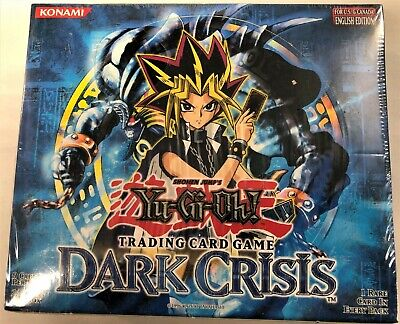 YGO! - Factory sealed Unl. ed. English Dark Crisis 24-pack booster box Dark Crisis Booster Box