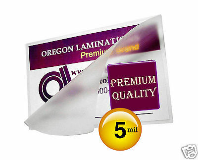 200 Hot 5 Mil Laminating Pouches 6 X 9 Clear 6x9 Half Page