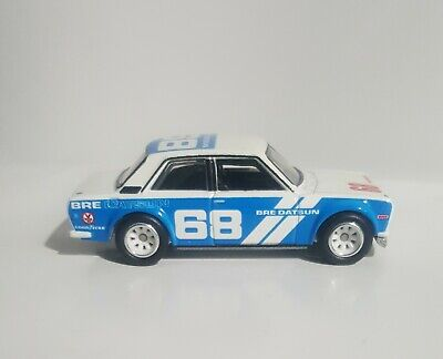 Hot Wheels Loose '71 Datsun 510 Real Riders From Team Transports Series